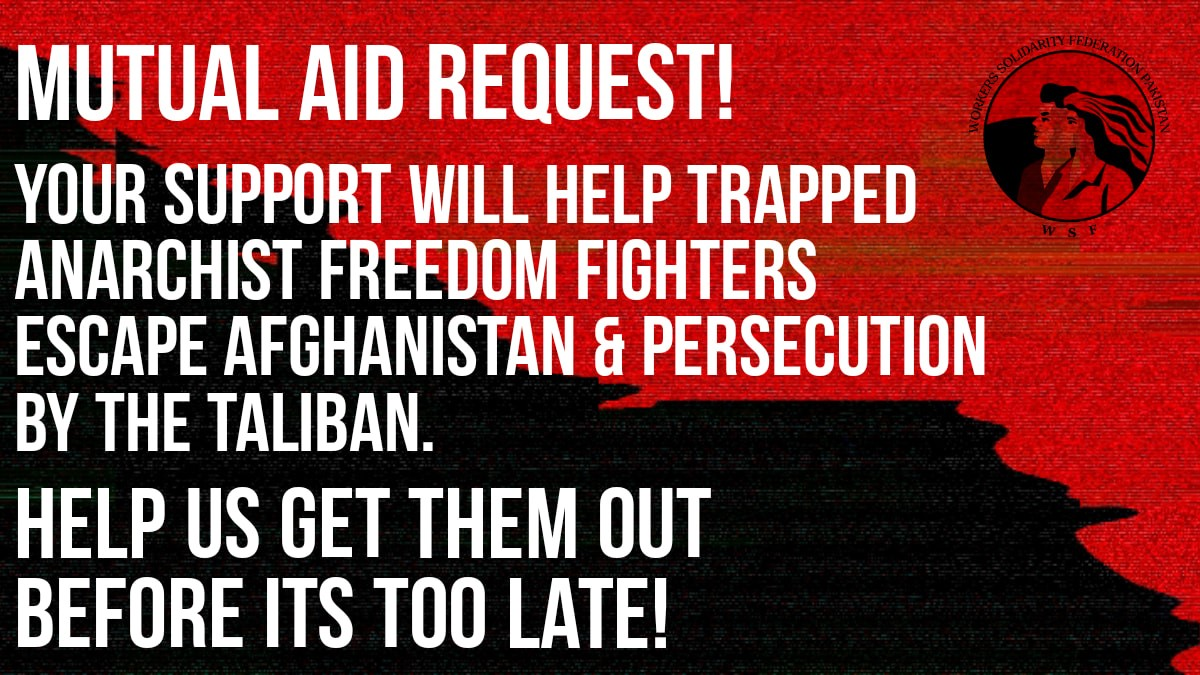 Solidarity with Afghan Refugees